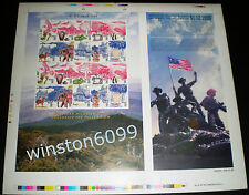 1999 Malaysia Millennium Series #1 Uncut Sheet Full Pane Imperforated 20v Stamps