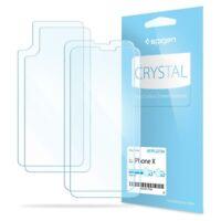 Spigen®Apple iPhone X [Film Crystal] Case Friendly Screen Protector - [2PK]