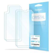 Spigen® Apple iPhone X [Film Crystal] Case Friendly Screen Protector - [2PK]