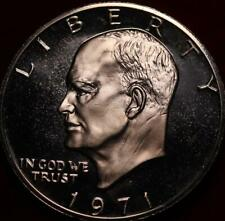 Uncirculated Proof 1971-S San Francisco Mint Silver Eisenhower Dollar