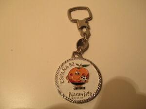 Vintage Rare Keychain Keyring Porte-Clés Mundial World Cup España Spain 82 RARE