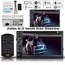 For Ford Car Stereo Radio Bluetooth Head Unit Player USB 6.2'' inch Double 2 Din