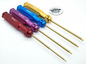 Metric Allen HEX Screwriver Tool Set, 4Pcs For RC CAR - Model, Hobby, Tuning