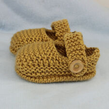 KNITTING INSTRUCTIONS-BABY SIMPLE UNISEX SANDALS BOOTIES BOOTEE KNITTING PATTERN