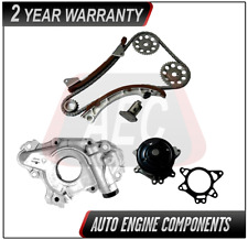 Timing Chain, Oil & Water Pump Fits Toyota Pontiac Vibe Matrix Corolla 1.8L