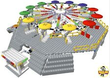 "Lego instructions seulement de Custom Fairground ride ""Parachutiste"" ** lruk ** MOC"