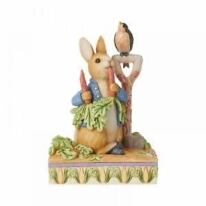 Jim Shore Beatrix Potter Then he ate some radishes (Peter Rabbit) 6008743