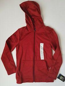 C9 by Champion Boys Hoodie Zip Up Jacket Tech Fleece Size Medium 8-10 New
