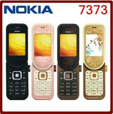 "Nokia 7373 - Pink gold (Unlocked) Bluetooth 2MP 2G GSM 2.0"" Cellular Phone"