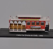 Atlas Tram Cable car (Ferries & Cliff) -1888 Diecast Scale Model Toy 1:87 Scale