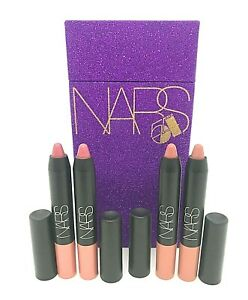 Nars Velvet Matte Lip Pencil Set ~ 2 Bad Girl / 2 Sex Machine ~ 1.8 g x 4