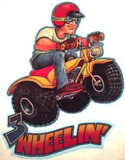 vTg 70s 80s ATV Honda 3 wheeler Dirt Bike Motorcycle motocross t-shirt iron-on