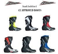 RST TRACKTECH EVO 2101 MOTORCYCLE CE ARMOUR MOTORBIKE RACING ADULT SPORTS BOOTS