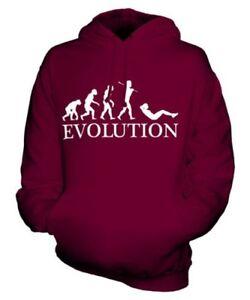 Sitzt (Weiblich) Evolution Of Man Unisex Kapuzenpullover Herren Damen Geschenk