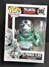 Aaron Dismuke Fullmetal Alchemist Signed Alphonse Elric Funko Anime Pop Figure