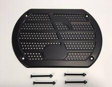 (1) Black Note Speaker Cover Grill Rear Deck Custom Lowrider Hot Rod