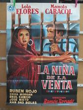 LA NIÑA DE LA VENTA LOLA FLORES MANOLO CARACOL  AÑO 1961