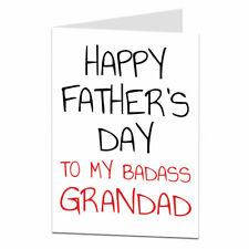 Fathers Day Card For Grandad