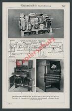 Fernsehen Radio Technik Elektronik Reichsbahn Zugtelefon Funk Reichspost 1938