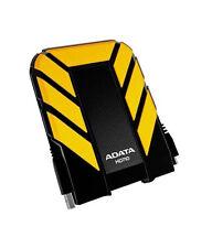 ADATA Hd710 Durable Waterproof Shock Resistant 2tb Usb3.0 External HDD Yellow