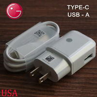 Original For LG G5 USB Data Cable Fast Dual Car Charger Rapid Travel Adapter
