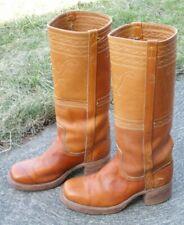 Men's Vintage 1970s Frye Campus Toe Boots Size 9.5 D Style # 2714 Excellent!