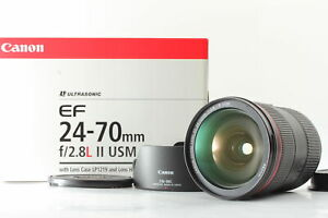 BOXED [Unused] Canon EF 24-70mm f/2.8 L II USM Prime Lens From JAPAN