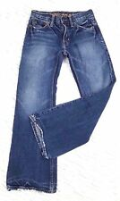 American Eagle Mens Size 26 28  Low Rise Slim Boot 100% Cotton Blue Jeans
