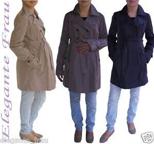 Umstandsmantel Regenmantel Damenmantel Mantel Umstandsjacke Frühlingmantel