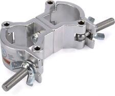 Riggatec Doppelschelle - Swivel Coupler leicht silber bis 50 kg (32-35 mm)