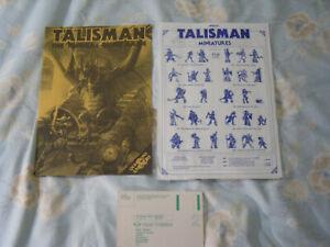 Games Workshop - Talisman (White) - Paperwork