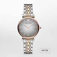 Emporio Armani Classic Stainless Steel Two-Tone Women's Watch AR1725