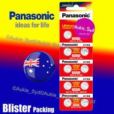 Panasonic LR44 Genuine Battery A76/AG13 Button Cell Batteries 200~50~30~20~10x