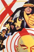 """X-Men Children of the Atom #4 by Steve Rude the Dude Lithograph 16"""" x 26"""" 2003"""
