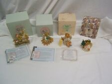 Lot of 4 Cherished Teddies 2 Angels, Ariel & Priscilla Mib Ww
