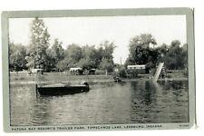 TRAILER PARK-TIPPECANOE LAKE LEESBURG,IND-PATONA BAY RESORT-CLEAR VIEW 194_? PC