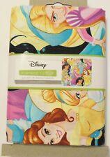 "Disney Princess Belle Cinderella Jasmine 100% Cotton Fabric 1 yard x 43"" NEW"