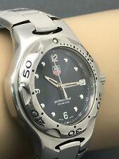 TAG Heuer Men's Watch Kirium Chronograph Blue Dial Stainless Steel WL1113-0
