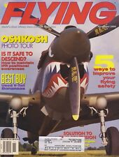 Flying Magazine (Nov 1995) (Oshkosh, Used V-Tail Bonanzas, Rotorway Exec 162)