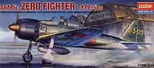 Academy Mitsubishi A6M5c Zero Fighter Tipo 52c Kagoshima Modello Kit 1:72 NUOVO