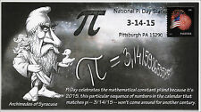 2015, National Pi Day, Pittsburgh PA, Pictorial Postmark, 15-046