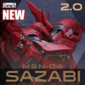 Gundam MG MSN-04 Sazabi 2.0 Ver.Ka&Expansion Pack GK Resin Conversion Kits 1:100