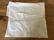 Used - COVER BAG FUNDA BOLSA - Algodón - 30 x 30 cm - White color Blanco - Usado