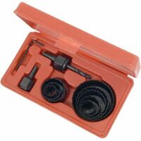 11pc Hole Saw Cutting Set Kit 19-64mm Wood Metal Alloys