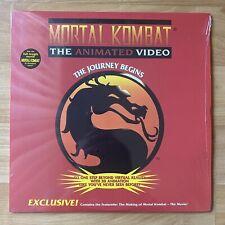 Mortal Kombat The Animated Video Laserdisc The Journey Begins LD - RARE
