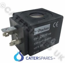 PARKER SOLENOID VALVE REPLACEMENT 230v COIL ZB09 9W COFFEE ESPRESSO MACHINE