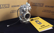 Brand New Genuine Mikuni HSR 42 Carburetor TM42-6 with Tuning Manual!