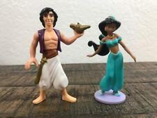 Disney Prince Aladdin & Princess Jasmine Toy Figure PVC Cake Topper