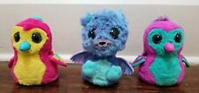 Hatchimals Lot of 3 Electronic Interactive Toys Lights Sound Set 1