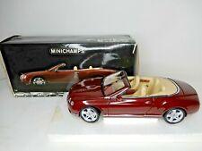 Minichamps 1:18  Bentley Continental GTC 2006  Sammlermodell (#320F)